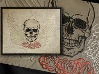 wandpaneel-skully-skull-and-paisley